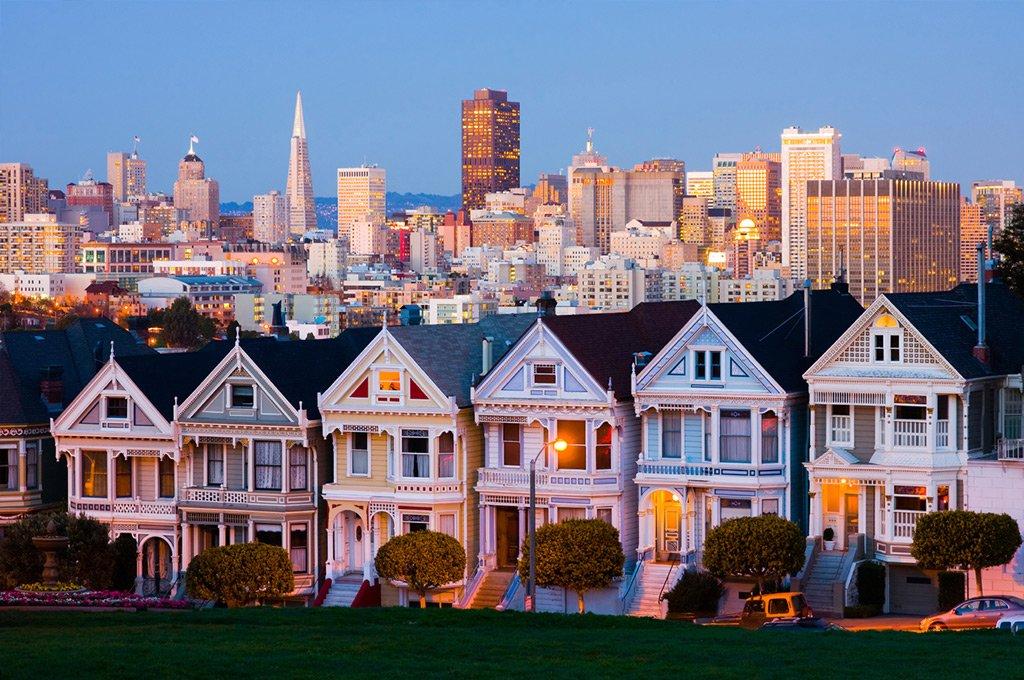 San-Francisco the Painted Ladies