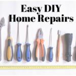 Easy DIY Repairs